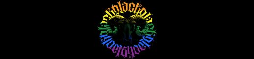 The Order of the Black Sheep logo, rainbow pride